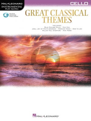 Great Classical Themes for Cello (Book with Audio online)