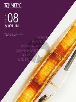 Trinity Violin Exam Pieces 2020-2023 Grade 8 (Violin-Piano)