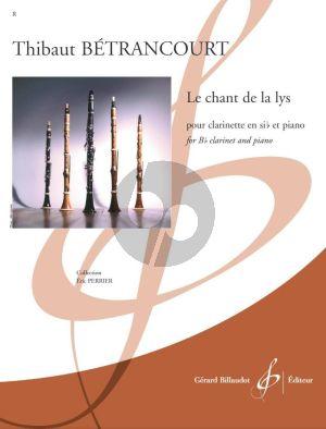 Betrancourt Le chant de la lys Clarinette et Piano (easy level grade 1)
