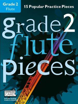 Grade 2 Flute Pieces Boek + audio-online (Christopher Hussey)