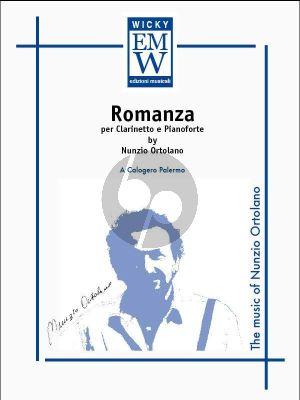 Ortolano Romanza Clarinet in Bb and Piano