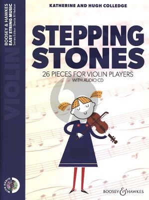 Stepping Stones for Violin Bk-CD