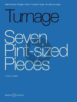Turnage 7 Pint-sized Pieces Violin and Piano