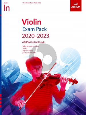 Violin Exam Pack 2020-2023 Initial Grade (Score with Part and Audio)