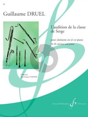Druel L'audition de la Classe De Serge Clarinette et Piano (easy level grade 2 - 3)