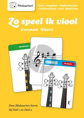 Carmen Eberz Zo Speel Ik Viool Flitskaartenboek