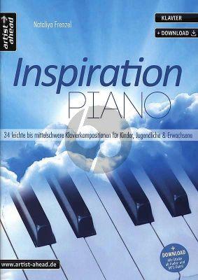 Frenzel Inspiration Piano (34 leichte bis mittelschwere klavierkompositionen fur kinder)