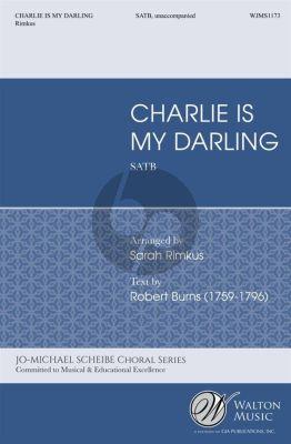 Burns Charlie is my Darling SATB (arr. Sarah Rimkus)