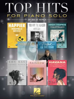 Top Hits for Piano Solo (20 Great Songs)