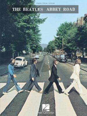The Beatles - Abbey Road (Piano-Vocal-Guitar)