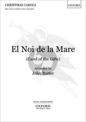 Rutter El Noi de la Mare (Carol of the Gifts) Vocal Score