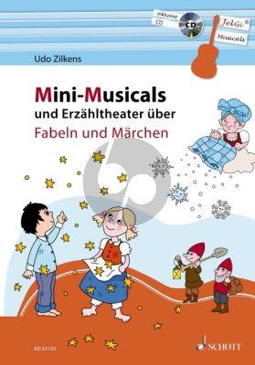 Zilkens Mini-Musicals und Erzähltheater über Fabeln und Märchen Gitarre (Bk-Cd)