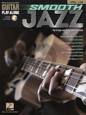 Smooth Jazz for Guitar (Guitar Play-Along Volume 124) (Book with Audio online)