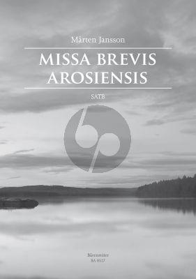 Jansson Missa Brevis Arosiensis SATB (lat.)