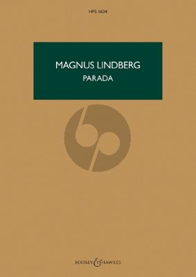 Lindberg Parada for Orchestra (Study Score)