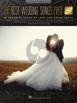 The Best Wedding Songs Ever (Piano-Vocal-Guitar)