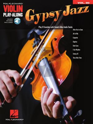 Gypsy Jazz for Violin (Violin Play-Along Volume 80) (Book with Audio online)