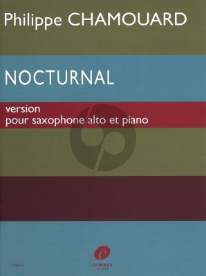 Chamouard Nocturnal for Altsaxophone with Piano