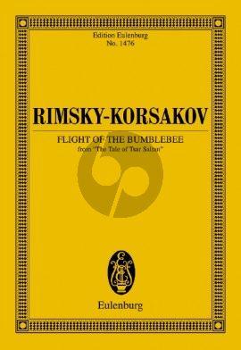 Rimsky-Karsakov Flight of the Bumblebee Study Score (From The Tale of Tsar Saltan)
