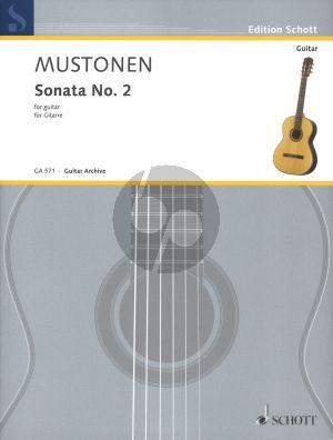 Mustonen Sonata No. 2 for Guitar Solo