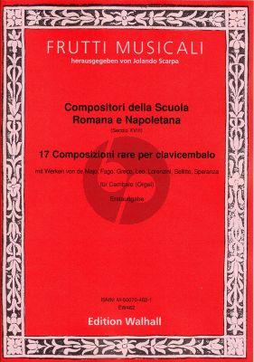 17 Composizioni rare foe Cambalo / Organ (Erstausgabe)