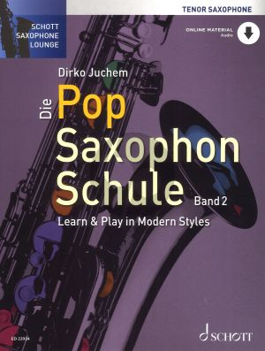 Die Pop Saxophon Schule Band 2 Tenorsaxophon