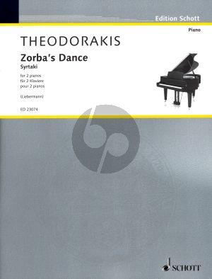 Zorba's Dance (Syrtaki) for 2 Piano's