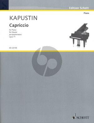 Kapustin Capriccio Opus 71 Piano