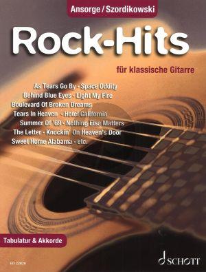 Rock-Hits fur Klassische Gitarre