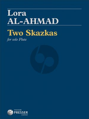 Al-Ahmad Two Skazkas for Flute solo