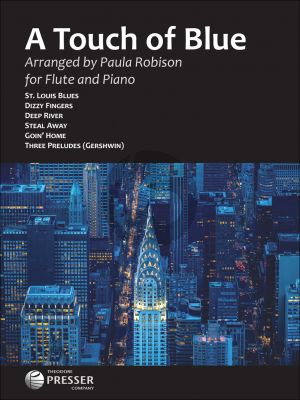 Album A Touch of Blue for Flute and Piano (Arranged by Paula Robinson)