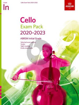 Cello Exam Pack 2020-2023 Initial Grade (Book with Audio online)