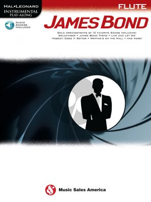 James Bond for Flute Instrumental Play-Along (Book with Audio online)