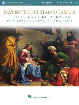 Favorite Christmas Carols for Classical Players for Trumpet and Piano