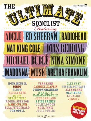 The Ultimate Songlist Piano-Voice-Guitar