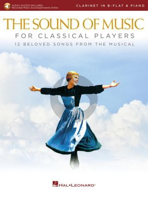 Rodgers-Hammerstein The Sound of Music for Classical Players for Clarinet and Piano (Book with Audio online)