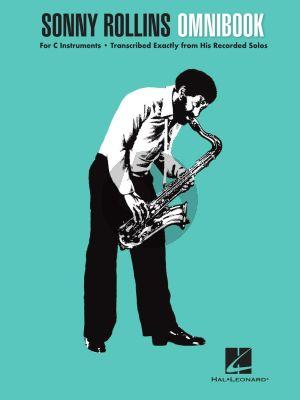 Sonny Rollins Omnibook for all C Instruments