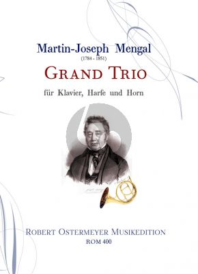 Mengal Grand Trio for Piano- Harp and Horn (Score/Parts)