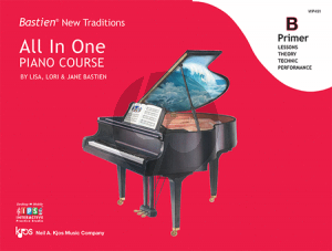 Bastien New Traditions All In One Piano Course - Primer B