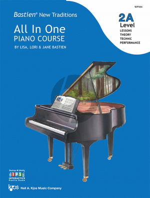 Bastien New Traditions All In One Piano Course - Level 2A