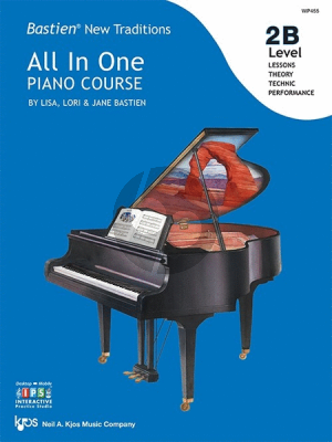 Bastien New Traditions All In One Piano Course - Level 2B