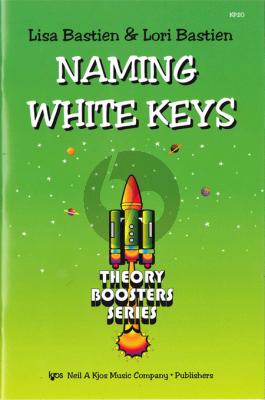 Bastien Naming White Keys