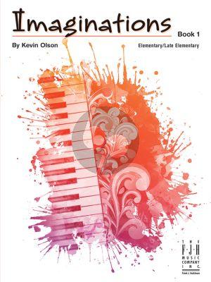 OLson Imaginations Vol.1 for Piano Solo (Elementary)
