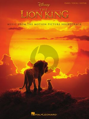 The Lion King Piano-Vocal-Guitar (Music from the Disney Motion Picture Soundtrack)
