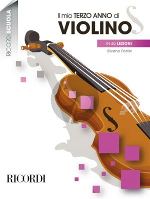 Perlini Il mio terzo anno di violino in 60 lezioni