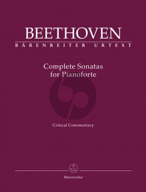 Del Mar Beethoven Complete Sonatas for Pianoforte (Anthology Critical commentary)