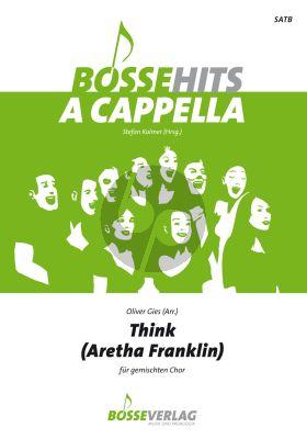 Franklin Think SATB (arr. Oliver Giess)