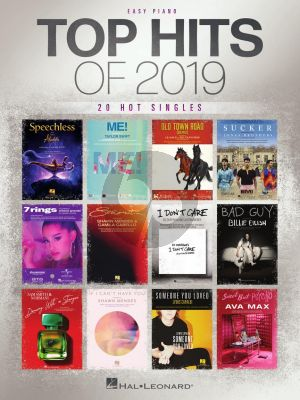 Top Hits of 2019 Easy Piano