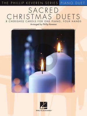 Sacred Christmas Duets Piano 4 hds. (arr. Phillip Keveren)