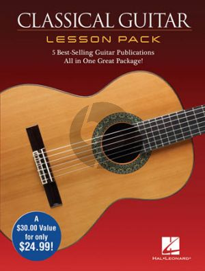 Classical Guitar Lesson Pack (Boxed Set with four Publications and one DVD in one great package) (Book with Audio online)